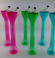 HOT SALES !!! Plastic beer yard cup, novelty slush cup