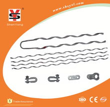 ADSS OPGW Cable galvanized dead end guy wire