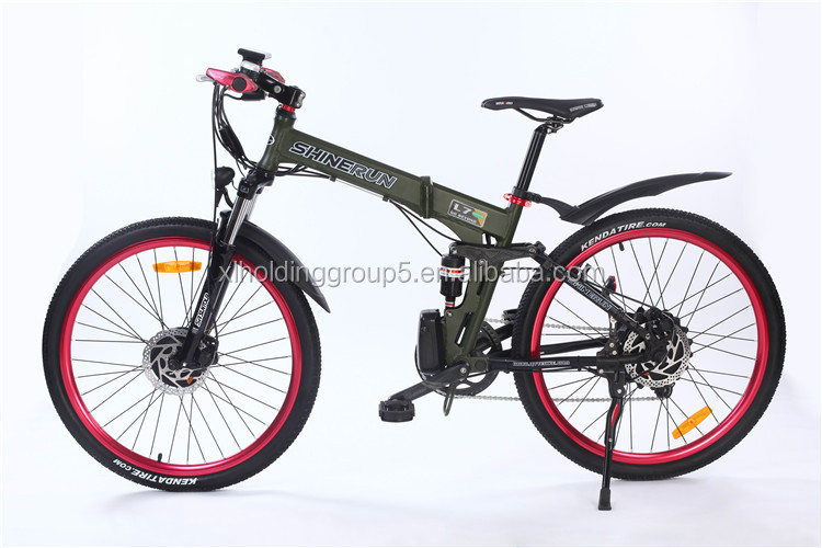 1:1 intelligent pedal assistant system COOL 26'' electric bicycle china designed for your life