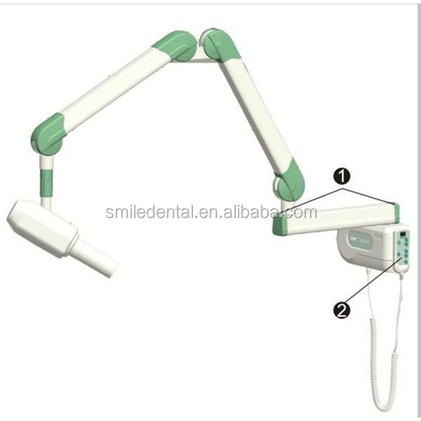 2015 wall mounted lower price dental x ray machine