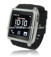 2013 newest bluetooth smart watch cellphone,with camera,can dial/answer calls,read SMS sync for Iphone/Android phones