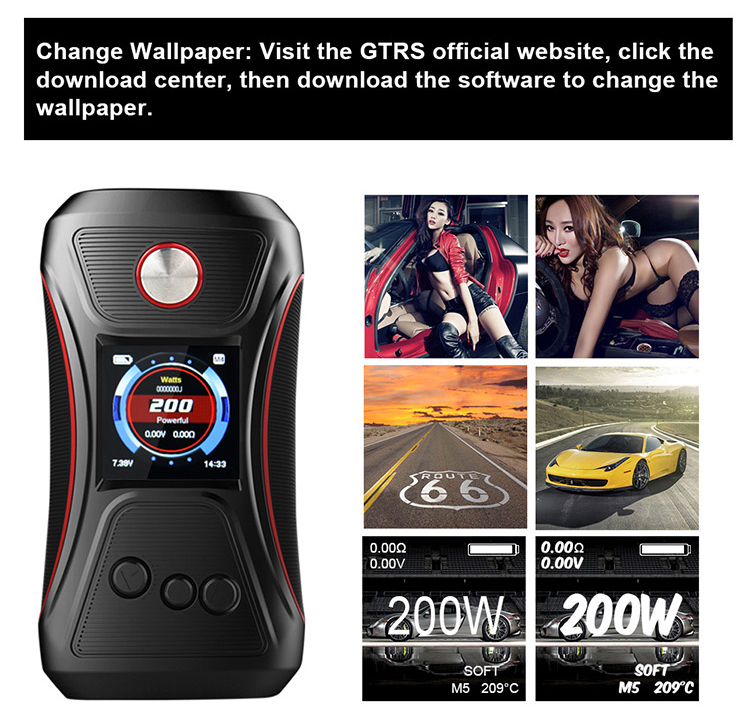 alibaba china wellness 200W e cigarette GTRS Vboy sub ohm 200w YiHi sx500 Chip wholesale vape mods box mod