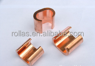 High quality wire clamps/copper C type clamp for cable accessories