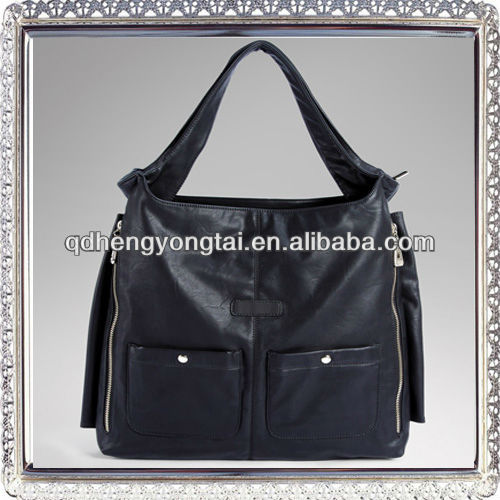 Design your own shoulder bags leather bag 2016 quality pu leather bag