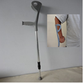 adjustable portable walking cane and crutch