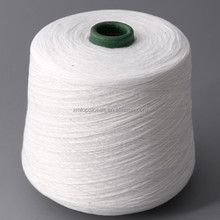 10s Polyester yarn raw white ring spun yarn for kite string