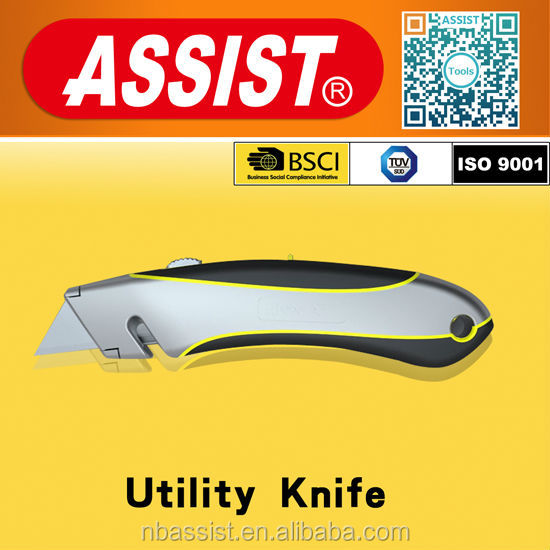 #2015 new aluminum alloy sharp utility knife