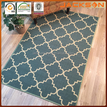 Anti-Bacterial Rubber Back AREA RUGS for home