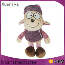 High quality hot selling colorful rustle for plush toys sheep