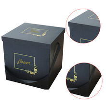 Elegant square gift box with ribbon custom bracelet box for gift guess gift box