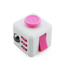 easy playing finger puzzles vinyl 2017 New Arrival stress relieve toys 6 sides fidget cube for adult and kids