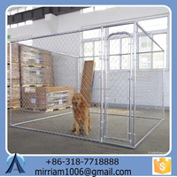Outdoor Hot Sales Large steel cheap Dog Kennel/ cages
