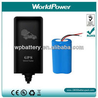 3.7V 4400mAh li-ion rechargeable battery for GPS Vehicle tracker