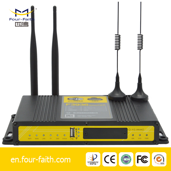 industrial 3g 4g media router with advertisement free wifi for pilot test program j