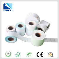 thermal roll self adhesive sticker paper for printer wholesale
