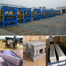 interlocking stone making machine wall block machine