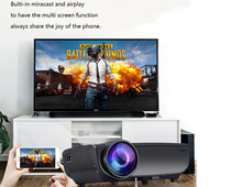 Anxin AN05 800*480P, mini pocket 3d led <strong>projector</strong> for 2200 lumens
