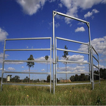 Portable Yard Panel Heavy Duty 6 Oval Rail - Cattle Yards Horse Panels and Gates