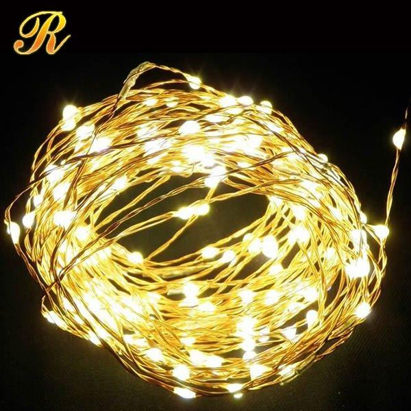 LED rose fairy lights flashing Christmas lights