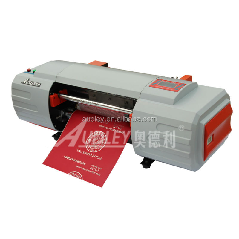 ADL 330A digital hot foil printing machine/foil ribbon <strong>printer</strong> with CE