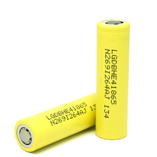 Top seller 18650 battery lg he4 2500mah 3.7v rechargeable lithium battery 18650 ecig batteries