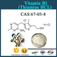 GMP factory Supply Best Quality (Ammonium sulphate HCL) Vitamin B1/Thiamine