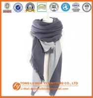 2016 wholesale navy woven square scarf