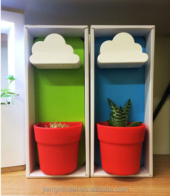 Decorative Cheap Flower Plant Pot/Cloud Rainy Pots