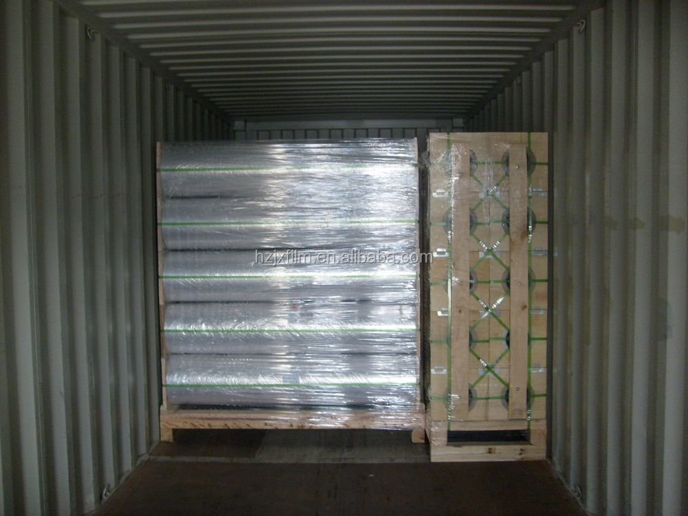 insulation laminating mpet/pe film