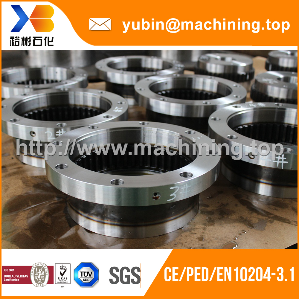 High precision machinery steel lowering gear with TUV certificate