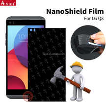 Hydrogel Film Not Nuglas tempered glass Nano Cover TPU Hammer Screen Protector Film For LG Q8