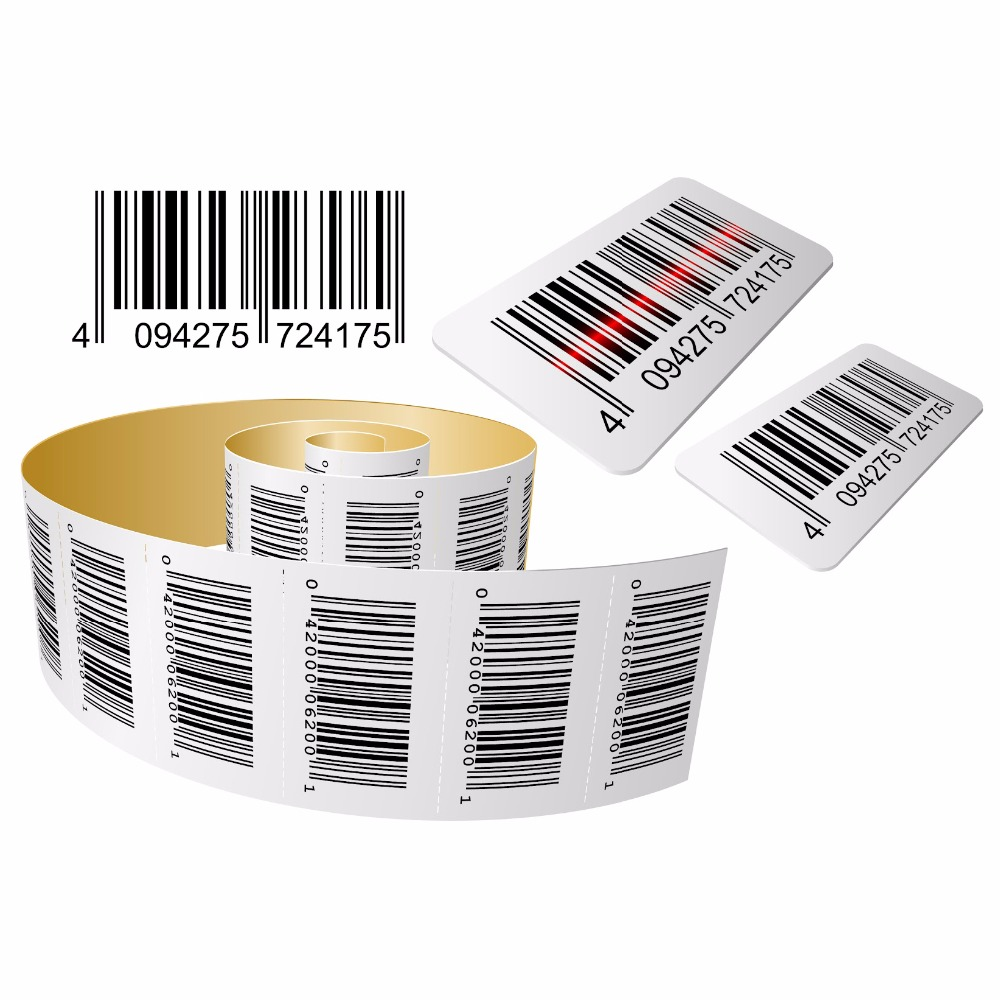 Printing variable barcode sticker label