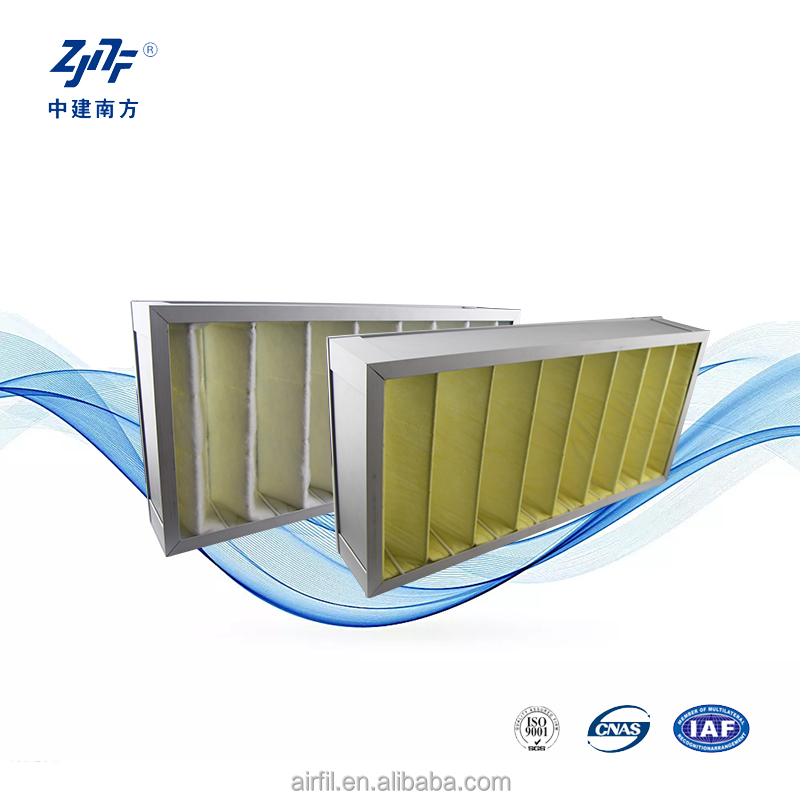 Metal frame F6 F8 F9 panel washable pre filter