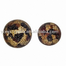 exquisite glass mosaic stained glass ball home ornament