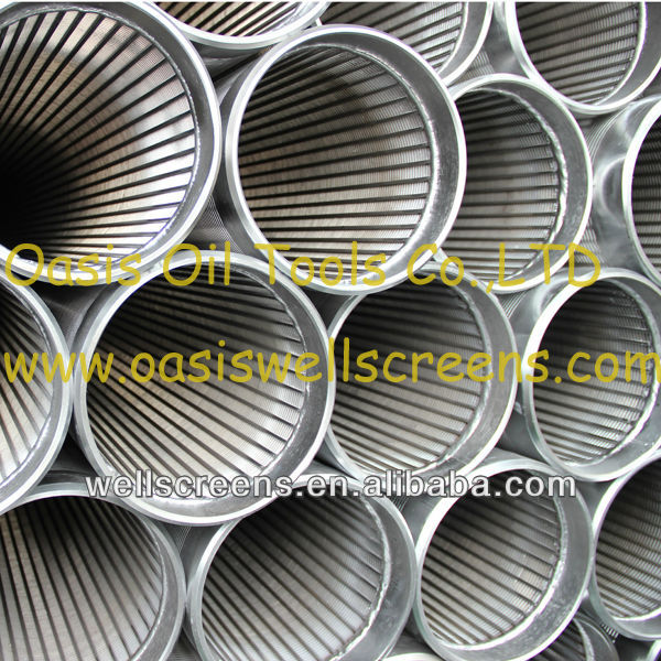 Johnson stainless steel water well casing pipe