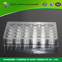 Accept custom order plastic chocolate tray