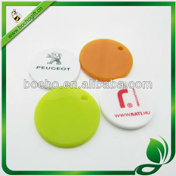 plastic shopping cart coins with printed logo