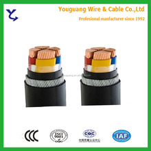 4X120mm2 4x150mm2 4X240mm2 4X300mm2XLPE Insulated Armored Cable Low Voltage 0.6/1KV
