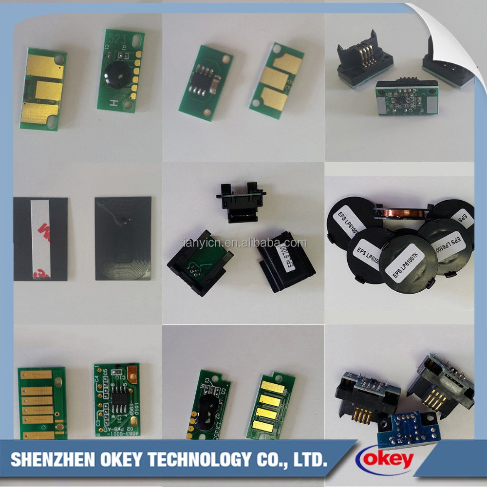 Shenzhen OKEY Professional Drum Reset Toner Chip For Epson Manufacturer
