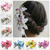 Wholesale Bridesmaid Bride Flower Hair Clip