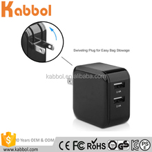 Kabbol 24W 4.8A wall power adapter charger usb for Samsung Galaxy S7 S6 Edge, Note 7 5 4 S5 Tab S