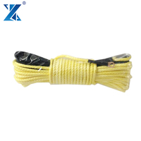 J-MAX high strength 3/16''x50' 12 synthetic uhmwpe firber winch rope for heavy duty vehicle towing