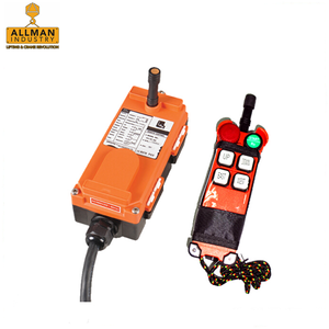 good price single speed F21 -4S 4 functions wireless remote controller for crane