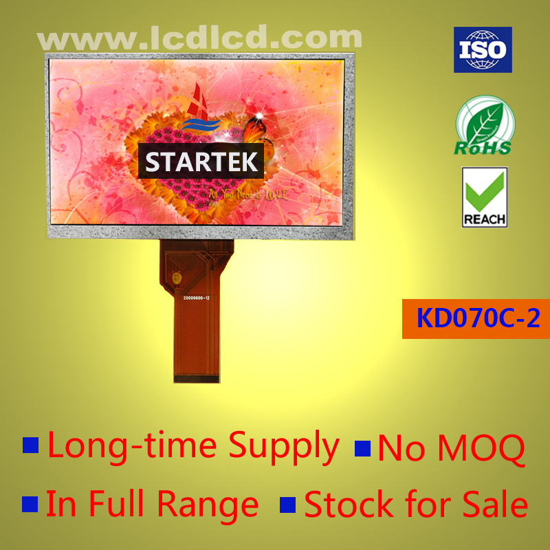 7 inch TFT LCD 800x480 with RGB interface resistive touch panel Touch screen