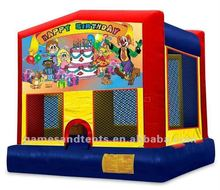 moon bounce, moonwalks, space walks Happy Birthday A2095