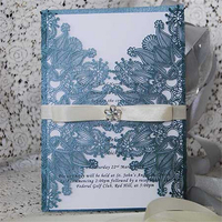 Deep-processing wedding card wholesale