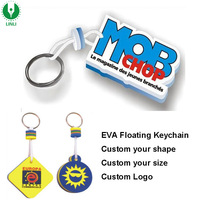 Promotional Custom Shape EVA Key Chain, Floating Keyrings, Floater Key Holder