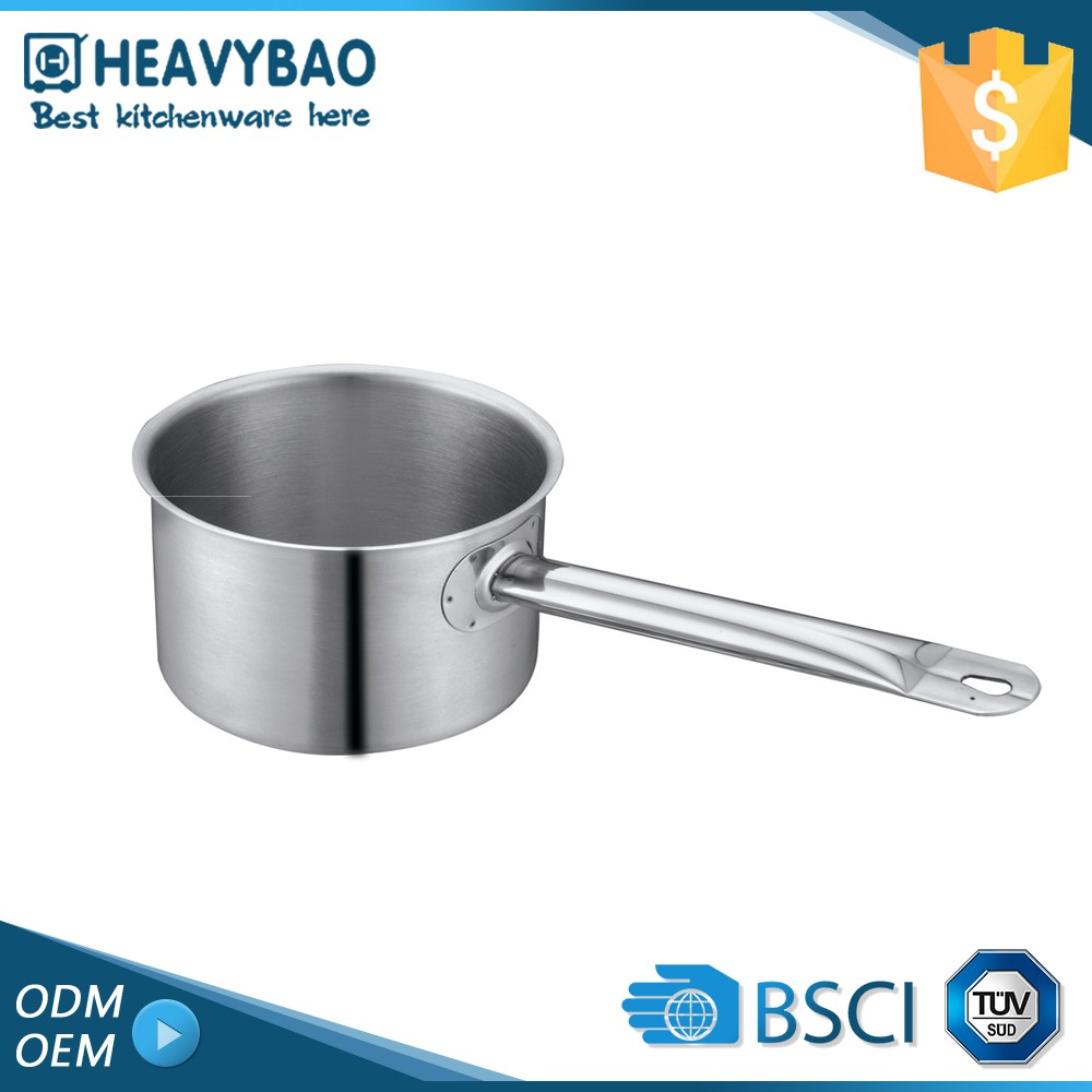Heavybao High Standard Satin Polishing Multi-purpose Big Industrial Cooking Pot Cookware