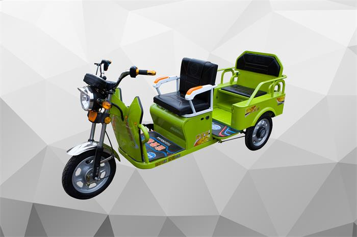 Sichuan China good quality competitive price 800W 2-4 seater electric tricycle family using for shopping