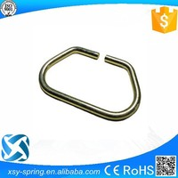 chrome plated 3.0mm wire form snap hook for bags